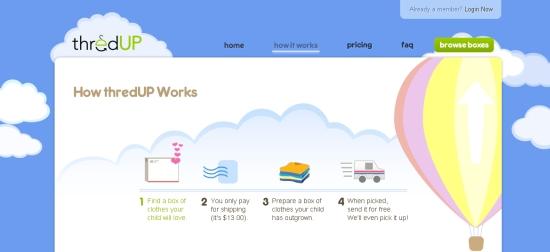 婴儿衣服交换网站「ThredUP」,互联网的一些事