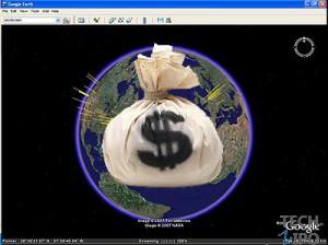 谷歌借谷歌地球进军垂直市场